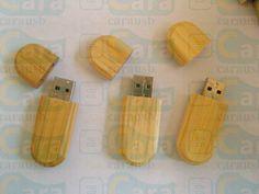 Oval wood usb flash disk, bamboo egg shape usb flash memory sticks 16GB.