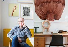 Et godt hjem er et personlig hjem, ifølge designer Espen Voll. Tidløse kvaliteter, materialer som tåler slitasje, kunst, reiseminner og bøker – alt er med på å gjøre hjemmet hans veldig personlig. Og veldig, veldig godt.