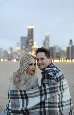 Blanket makes this urban engagement photo made so sweet, perfect accessory to ke. - Blanket makes this urban engagement photo made so sweet, perfect accessory to keep you warm for a p - Urban Engagement Photos, Winter Engagement Photos, Engagement Shots, Engagement Photo Inspiration, Engagement Couple, Engagement Pictures, Wedding Inspiration, Engagement Ideas, Wedding Ideas