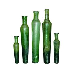 Antique Bottles - Inks ❤ liked on Polyvore featuring fillers, green fillers, bottles, green, decor, doodle and scribble