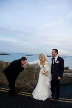 Bride in the name of love: Newlywed teachers have a beautiful day after Bono crashes their wedding : Sinead O'Sullivan and David O'Connor were taking treasured snaps when the rockstar made a surprise appearance / Read more : www.irishmirror.ie/showbiz/irish-showbiz/bono-makes-bride-grooms-day-2976102 / Lire l'article : www.u2france.com/actu/Quand-Bono-se-balade-dans-Dublin,57715.html #u2NewsActualitePinterest #u2 #bono #PaulHewson #picture #2013 #music #rock