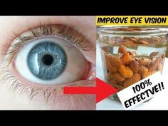 Say Goodbye To Your Glasses And IMPROVE YOUR EYESIGHT With This Incredible Home Recipe!! - YouTube #improveeyesight