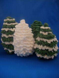 A la Sascha: Gratis amigurumi haakpatroon kerstboom