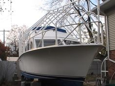 Any pix of boat cover supports? Dual console - The Hull Truth - Boating and Fishing Forum