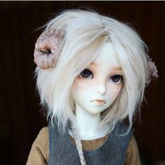 Bjd, doll, and girl