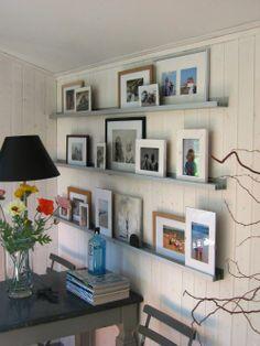 1000 images about foto collage aan de muur on pinterest pictures decor and design studios - Grijze muur deco ...