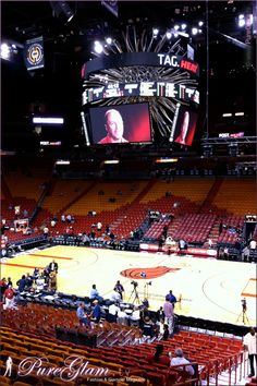 Basketball NBA Season Game – Miami Heat at American Airlines Arena - Miami, FL, Florida, USA