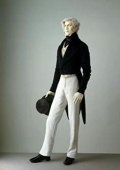 Мужской костюм 19 века россии