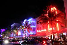 Miami Ocean Drive Art Deco District