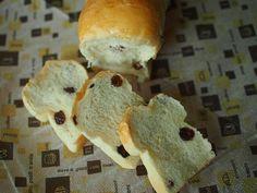 捏ねないパン! ふわふわ ブドウ食パン - PACO's Pantry