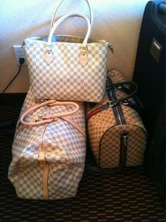 Louis Vuitton Damier Azur Canvas  For my Sis and Bro - SLS & GFS :)