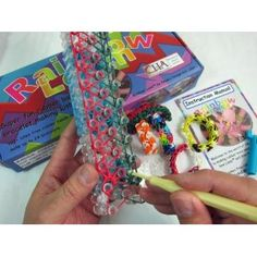 Twistz Bandz Rainbow Loom - very popular with the girls right now:)
