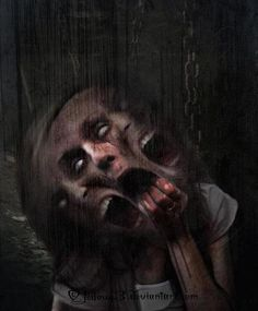 Creepy, Scary picture