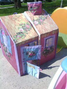 Little girl's playhouse.