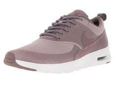 official photos e3d70 f180b Nike Nike Air Max Thea Textile Women, Damen Sneakers, Rot (PLUM FOG