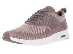 Nike Nike Air Max Thea Textile Women, Damen Sneakers, Rot (PLUM FOG/PURPLE SMOKE-WHITE), 36.5 EU