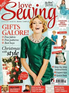 Love Sewing Issue 7 - 2 Free Dress Pattern Downloads
