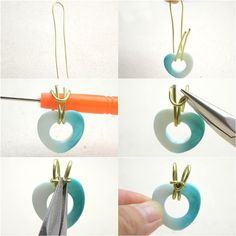 Attaching a Bail with a Handmade Wire Wrapped Bail – Pandahall