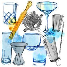 Henie Haworth :: essential barware for liquor.com