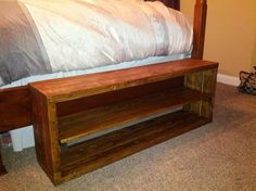 DIY shoe-rack bench, but really long for my front room?!
