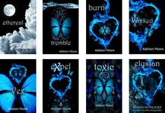 Buffy The Vampire Slayer on Acid- The Celestra Series by Addison Moore - Books and book related stuff - Cool Books, Ya Books, I Love Books, Books To Read, Buffy, Vampire Books, Vampire Book Series, Book Suggestions, Books For Teens