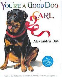 @Overstock - Six of the author`s popular stories about the baby-sitting rottweiler named Carl are gathered into one volume, and include Carl Goes Shopping, Carl Goes to Daycare, Carl`s Birthday, and Carl`s Masquerade. 50,000 first printing.http://www.overstock.com/Books-Movies-Music-Games/Youre-a-Good-Dog-Carl/2388165/product.html?CID=214117 EUR              28.18