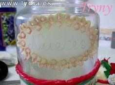 PORCELANA FRIA Trynys design: decoracion de tarros y vasos con porcelana fria