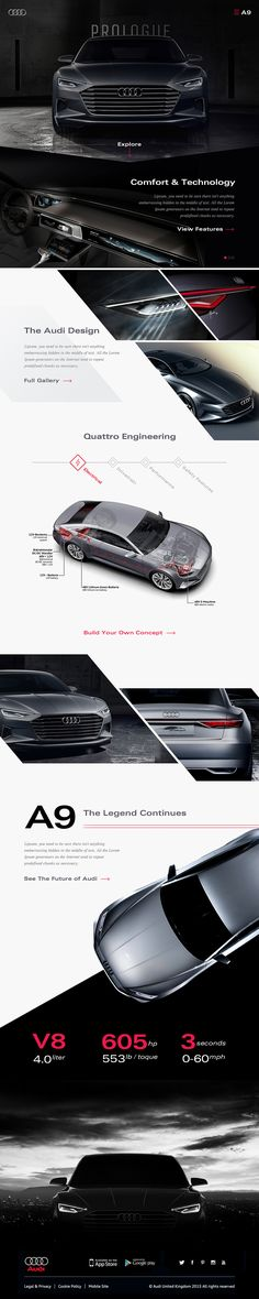 Audi Prologue / A9 Concept on Behance