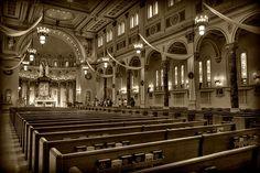 Holy Cross Catholic Church, NE Minneapolis, Minnesota by Amanda Stadther. amandastadther.com