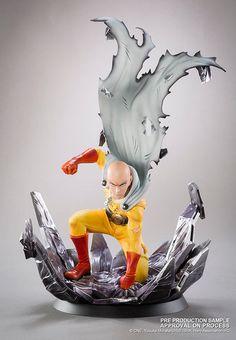 Estatua Saitama Xtra, One-Punch Man. Escala 1/10, Tsume  Estatua del personaje Saitama, perteneciente al manga/anime One-Punch Man, fabricada en una edición limitada por Tsume.