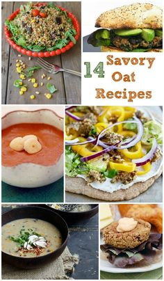 14 Vegan Savory Oat Recipes that will spice your winter up!