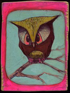 Pink Owl by-Brett Superstar
