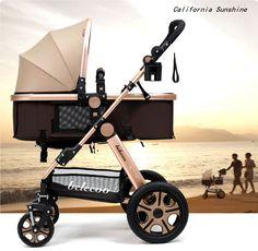 Pram Newborn Carriage Infant Travel Car Foldable Pram Baby Stroller Pushchair | eBay