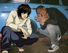 Funny Anime Pics, Anime Meme, Stupid Memes, Funny Memes, Death Note デスノート, Death Note Funny, Gangsta Anime, Whatsapp Logo, Haha