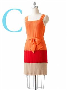 Dana Buchman colorblock dress at Kohls...under $50