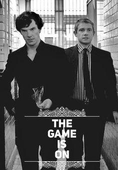 Benedict and Martin / Sherlock and John Sherlock John, Sherlock Holmes Bbc, Benedict Sherlock, Jim Moriarty, Quotes Sherlock, Sherlock Meme, Sherlock Cast, Sherlock Holmes Benedict Cumberbatch, Disney Films
