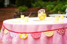 Pink Lemonade themed birthday party by Honeydew Events Baby's 1st Birthday