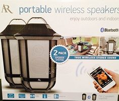2 pk Acoustic Research Portable Wireless Bluetooth Speakers Premier Series * Read more  at the image link.Note:It is affiliate link to Amazon.