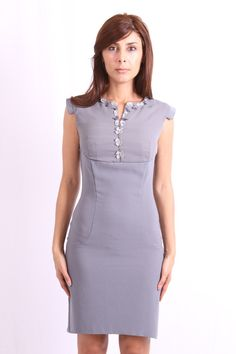https://www.cityblis.com/5715/item/13822   California Classy 2 - $210 by LailyS Couture   Classy Work/Cocktail dress.  Color: Black, Grey  Size: S, M   #Dresses