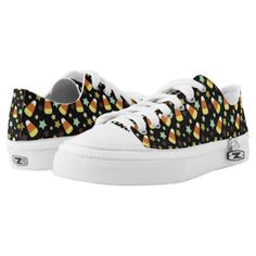 #Candy Corn and Star Sneaker - #cute #gifts #cool #giftideas #custom
