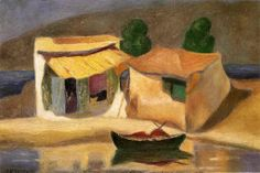 Shop for Michalis Economou 'House by the Sea' Oil on Canvas Art - Multi. Get free delivery On EVERYTHING* Overstock - Your Online Art Gallery Store! Oil On Canvas, Canvas Art, House By The Sea, Painter Artist, Fauvism, Greek Art, Fashion Painting, First Art, Summer Art
