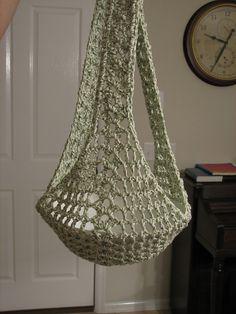 Crochet Sling Bags Ravelry: Hanging Plant Sling pattern by Priscilla Hewitt - Crochet Plant Hanger, Macrame Plant Hangers, Crochet Shell Stitch, Bead Crochet, Crochet Home, Crochet Gifts, Macrame Patterns, Crochet Patterns, Hanging Plants