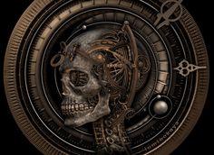 Steampunk Tendencies | 3D sculpting in progress by Luminokaya