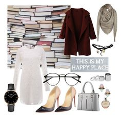 """Bookworm style"" by aninda93 on Polyvore featuring Rachel Zoe, Christian Louboutin, Wet Seal, Louis Vuitton, CLUSE, Pier 1 Imports, Betty Jackson, Sole Society, JLo by Jennifer Lopez and women's clothing"