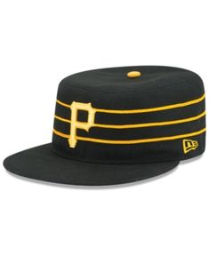 38f31d0ac66 New Era Kids  Pittsburgh Pirates Authentic Collection 59FIFTY Cap - Black 6  1 2