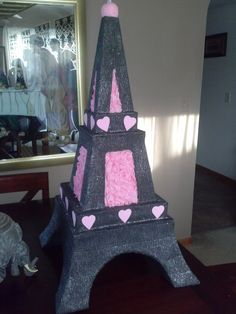 Hey, I found this really awesome Etsy listing at https://www.etsy.com/listing/185647961/eiffel-tower-pinata-custom-made