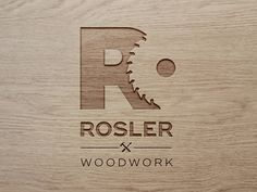 logo woodwork by Laura Rösler