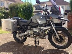 BMW R1150GS with Touratech Zega Adventure luggage 2001