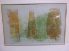 Outstanding midcentury modern abstract wall art by artiques71