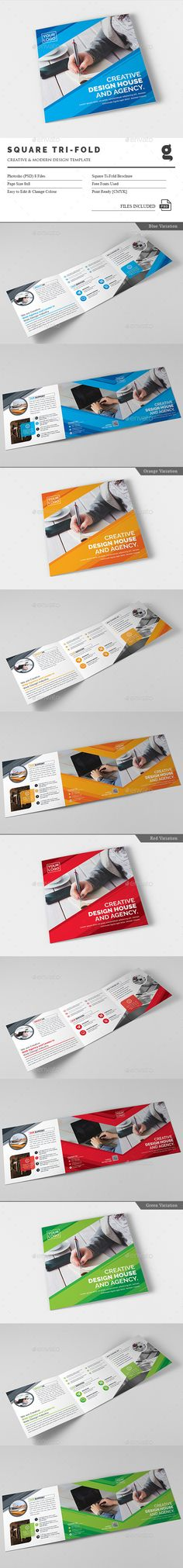 Pro Tri-Fold Brochure Template PSD. Download here: http://graphicriver.net/item/pro-trifold-brochure/16399765?ref=ksioks